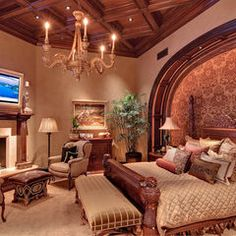 Lovely Bed Room On Pinterest Mediterranean Bedroom Traditional Bedroom And
