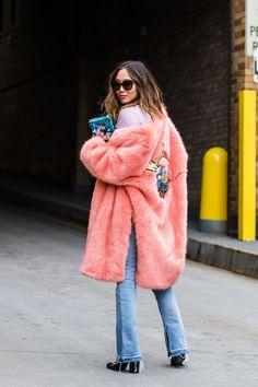 Street style from New York fashion week autumn/winter '16/'17 - Vogue Australia