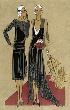 Art Deco dresses