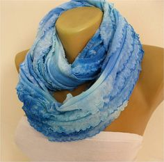 SALE  990 USD-Infinity  Scarf Shawl Circle Scarf by MebaDesign