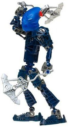 LEGO Bionicle: Blue Toa Nokama (8602) by Toys. $22.95. Look inside for a special Kanoka card with a Bionicle Instant Win game. Then, enter the card's Kanoka code on Bionicle website to access secret Bionicle information. Includes 46 LEGO pieces. Toa Metru of water and guardian of Ga-metru, Toa Nokama can often be found using her twin hydro blades to speed through the protodermis canals. Intelligent and strong, she has the wits to solve mysteries and the power to ...