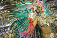 Brazilian Samba Dancer - Carnival 2013