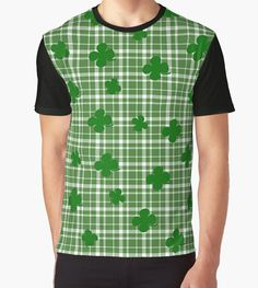 St. Patricks day plaid pattern by Momcilo Bjekovic