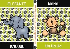 decora tu aula Tarjetas onomatopeyas de animales -Orientacion Andujar Speech Therapy, Comics, Leo, Scrap, Phonetic Alphabet, Drawings, Paper, Preschool Speech Therapy, Animal Cards