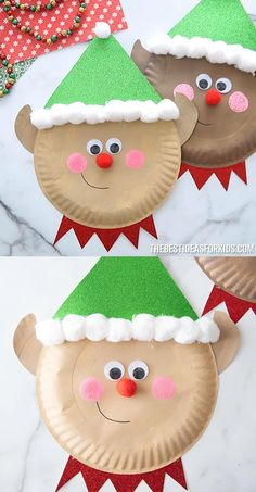 Animal Crafts For Kids, Holiday Crafts For Kids, Crafts For Boys, Craft Projects For Kids, Paper Crafts For Kids, Xmas Crafts, Toddler Crafts, Christmas Projects, Preschool Crafts