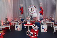 decoração ursos marinheiros