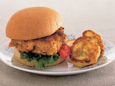 Pin for Later: 25 Great Summer Dinner Ideas For Families Jessica Seinfeld's Brainy Salmon Burger