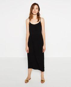 Image 1 of MIDI STRAPPY DRESS from Zara