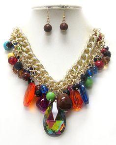 collier imposant collier lariat collier par FASHIONJEWELRY7 sur Etsy, $17.00