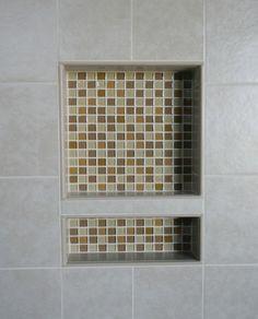 EZ-NICHES USA - Recess Bathroom Shower Shampoo Wall Niche modern bath and spa accessories