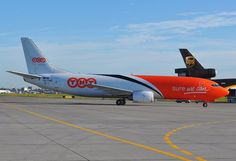 TNT Boeing 737 freighter @ Chopin Airport