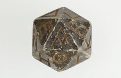 World's oldest d20 die has been found IN EGYPT. The previous record holder was a Roman glass die from around the 2nd century AD, but this one -- this one IS EVEN OLDER. I hope you're sitting down:  Pictured above is a twenty-faced die dating from somewhere between 304 and 30 B.C., a timespan also known as Egypt's Ptolemaic Period.  So the Egyptians played Dungeons and Dragons too!