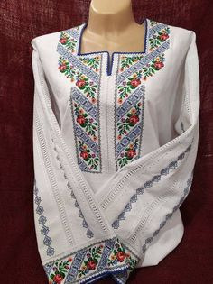 Loom, Collars, Hair Makeup, Cross Stitch, Embroidery, Elsa, Model, Sweaters, Clothes