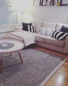 Asko Mixed matta Linie Design Home Living Room, Contemporary, Rugs, Design, Home Decor, Drawing Rooms, Simple Lines, Homemade Home Decor, Living Room