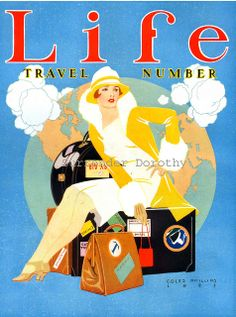 1926 Life Lady Magazine Cover Design by SurrendrDorothy, via Flickr