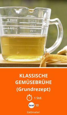 Klassische Gemüsebrühe - (Grundrezept) - smarter - Kalorien: 10 Kcal - Zeit: 1 Std. | eatsmarter.de