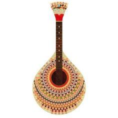 Grafiki Guitarra portuguesa
