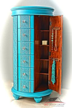 Jewelry armoire by LMODesignGroup on Etsy https://www.etsy.com/listing/219837034/jewelry-armoire