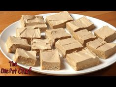 No Bake Coffee Slice | One Pot Chef - YouTube
