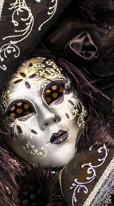 Carnival Mask in Verona, Italy