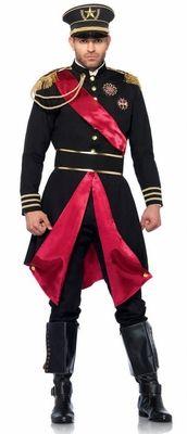 For General Agape: Men's Deluxe Military General Costume