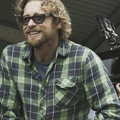 Фотография Simon Baker, I Love Simon, Beard Boy, The Mentalist, On Set, Breathe, Gentleman, Men Casual, Celebs