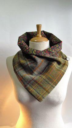 Tweed fabric Irish Wool Tweed ladies by IvyCottageTweeds on Etsy