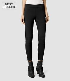 Womens Tyne Leggings (Black) - product_image_alt_text_1