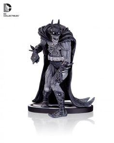 "Batman Black and White: ""Zombie"" Batman statue based on artwork by Neal Adams"