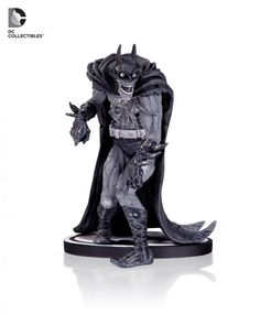 "Batman Black and White: ""Zombie"" Batman statue based on artwork by Neal Adams"