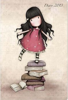 My favourite Gorjuss illustration:-) Illustrations, Illustration Art, London Illustration, Art Mignon, Santoro London, Cute Art, Paper Dolls, Little Girls, Decoupage