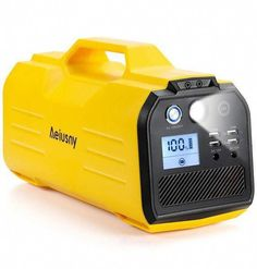 Aeiusny Solar Generator Upgraded, 296WH Portable Generator Rechargeable, Backup Battery Power Supply Travel Gift with 110V AC Outlet, 12V Car, USB Output Off-Grid Power Supply for CPAP/Camping/Home #AeiusnySolarGeneratorUpgraded #AeiusnySolarGenerator #SolarGenerator #Generator #PortableGenerator #BackupBattery Solar Powered Generator, Portable Generator, Battery Generator, Solar Energy Panels, Best Solar Panels, Solar Charger, Solar Battery, Solar Energy System, Grid