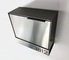 Modern mailbox stainless steel design Modern by Brassandsons