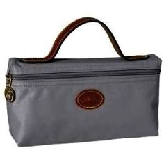 cheap Longchamp Cosmetic Bags Gray on sale online, save up to 90% off  hunting for limited offer, no tax and free shipping.
