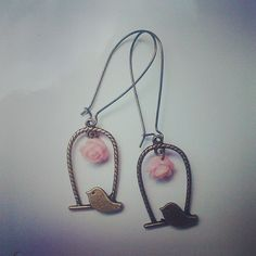 very beautiful birds earrings!