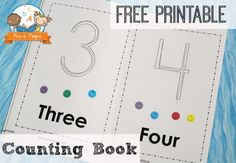 Printable Counting Book http://www.pre-kpages.com/printable-counting-book/