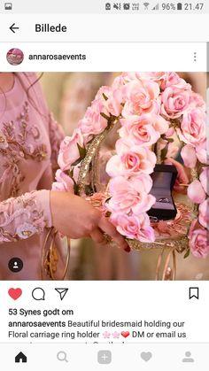 Engagement Ring Platter, Engagement Rings Couple, Wedding Gift Wrapping, Wedding Gift Boxes, Engagement Decorations, Wedding Decorations, Hello Kitty Wedding, Elegant Wedding Rings, Trousseau Packing