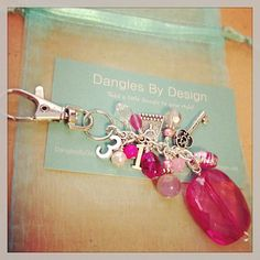 #Purse Keychain Bag Bling #Thirty #One reps by DanglesbyDesign, $10.50