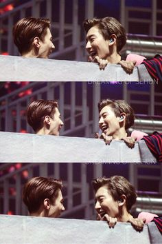 Sehun and Chanyeol | EXO Planet #2 - The EXO'luXion' in Seoul