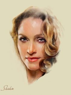 Madonna by shahin
