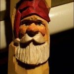 TRY - Santa Carving Stick Tutorial #santa #carving #wood #tutorial http://www.ozarkwalkingsticks.com/santa-study-stick-tutorial/
