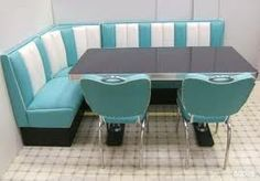 diner... I would love this in my kitchen...only with white table.