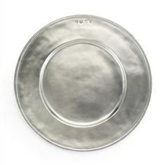 Luisa Pewter Charger by Match Pewter