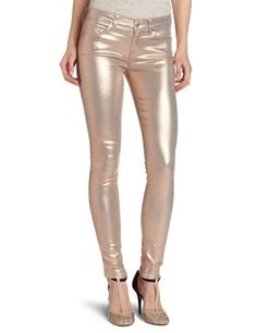 7 For All Mankind Women's The Skinny Jean, Metallic Light Blush, 27 buy at http://www.amazon.com/dp/B008OVLYNY/?tag=bh67-20