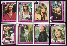Charlie's Angels trading cards