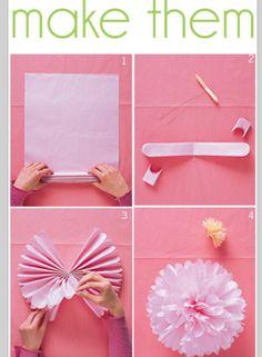 Love of God: Peony - tissue paper flower