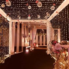 Photo By Vibes of Luxury Events - Decor design entrance Photo By Vibes of Luxury - Decor Reception Stage Decor, Wedding Reception Backdrop, Wedding Mandap, Event Decor, Wedding Receptions, Wedding Walkway, India Wedding Decorations, Desi Wedding Decor, Wedding Entrance Decoration