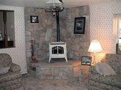 corner wood stove - wood stove corner surround | Mitula Homes