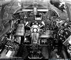 Northrop P-61 Black widow cockpit ~ BFD