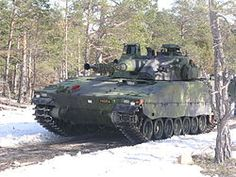 Swedish CV-9040 IFV - Armed with 40mm main gun.  Can also mount 35mm or 30mm main guns.